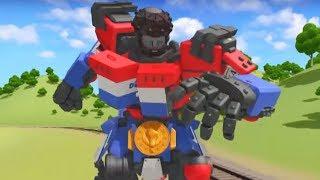 Тоботы новые серии - 16 Серия 3 сезон - мультики про роботов трансформеров [HD]