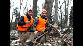 PA Public Land Rifle Deer Hunting 2018 - Matt's Buck