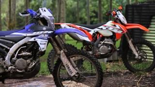 2015 KTM 250EXCF vs 2015 Yamaha WR250F