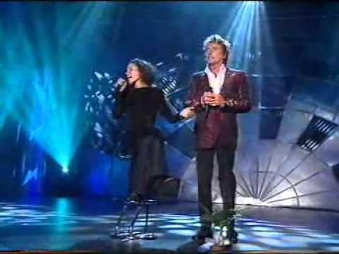 Dont come around here   Rod Stewart and Helicopter Girl