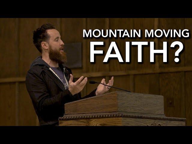 Mountain Moving Faith Controversy