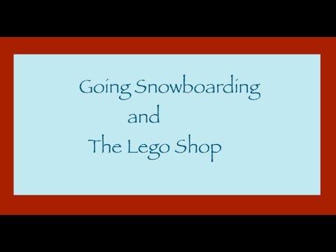 Trip to Milton Keynes | Snowboarding and Lego shop