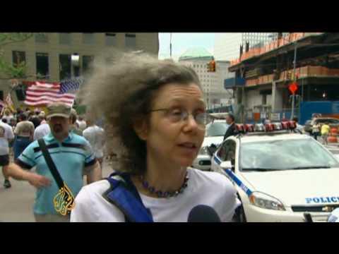 Proposed Muslim centre near 9/11 site draws protest