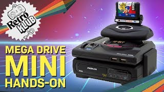 Sega Mega Drive Mini Hands-On | Retro Klub