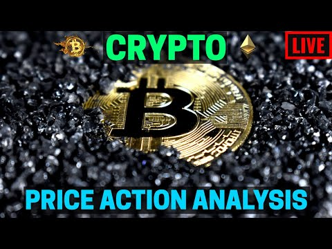 Live Crypto Trading and Price Action Analysis #Bitcoin #Ethereum #PriceActionAnalysis