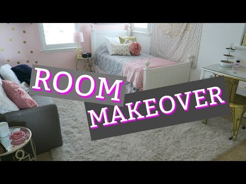 EMMA'S NEW CLOSET TOUR! MAKING OVER HER ROOM!