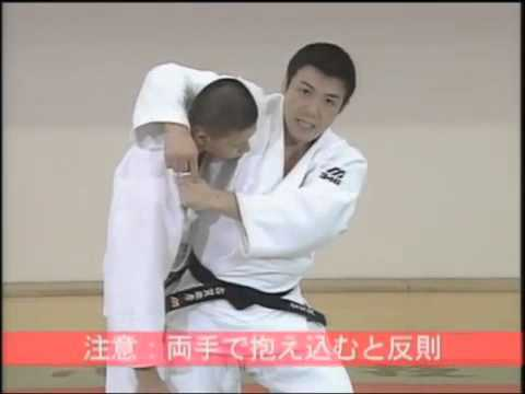 JUDO TECHNIQUES: Toshihiko Koga 古賀 稔彦 (JPN) - Koshi Guruma