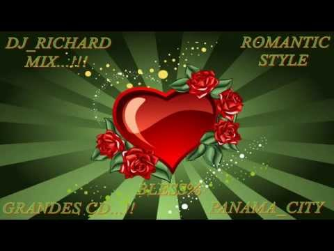 LA TANDA ROMANTIC STYLE MIX  RETRO BY DJ RICHARD 2014&