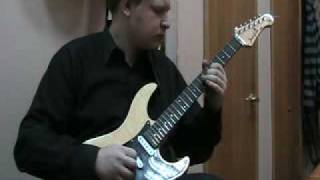 """Мясников Леонид - """"Maybe Next Time"""" solo by R.Blackmore"""