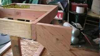 Attaching Stringer To Floor Joist Cantilever - Stair Building Tips And Tricks