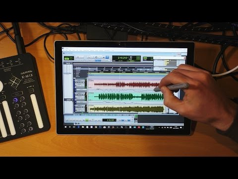 Surface Session Ep 04 - Multitracking in Pro Tools and K-Mix