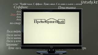 Подготовка к ЕНТ: Русский язык (Морфемика, Суффикс, Приставка, Соединительная гласная)