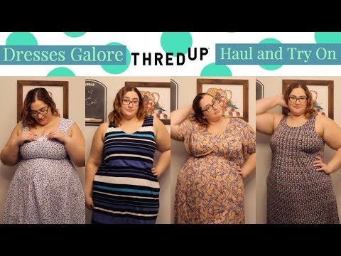 ThredUP Haul And Try On *Dresses Galore*
