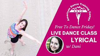 Adtc's free to dance friday -