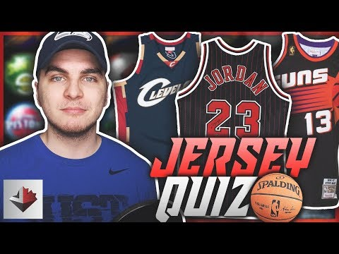 CHALLENGING THROWBACK NBA JERSEY QUIZ!