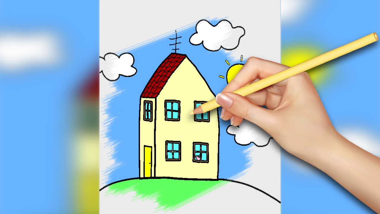 Coloring book real estate - Peppa Pig Coloring Pages For Kids Coloring Games Part 7 Coloring Book
