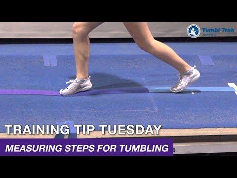 Measuring Steps For Tumbling