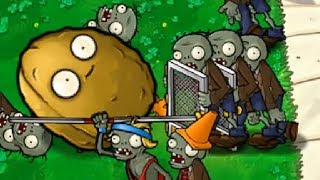 Plants vs Zombies has the best minigames