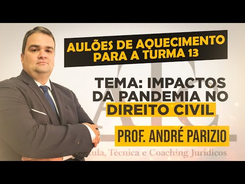 Aulão Especial - Impactos da Pandemia no Direito Civil - Prof. André Parizio - 12-02-21