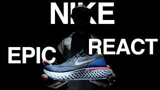 NIKE REACT - обзор беговых кроссовок + конкурс