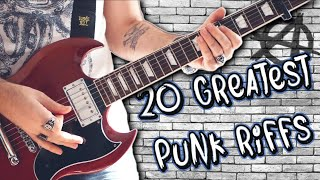 Top 20 Greatest Punk Rock Riffs
