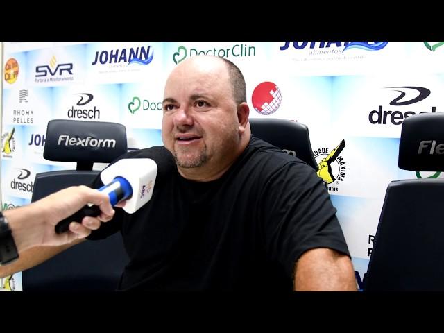 (COLETIVA) Pós-Jogo - Novo Hamburgo 1x0 Caxias (Amistoso)