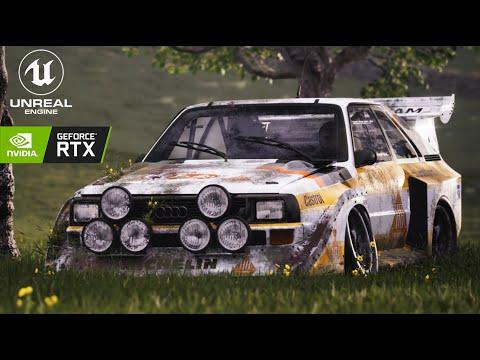 Download Group B Legends // Abandoned Audi Quattro Sport S1 // Unreal Engine 4 (RTX)