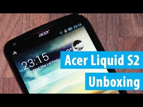 Acer Liquid S2 Unboxing und Kurztest | Deutsch