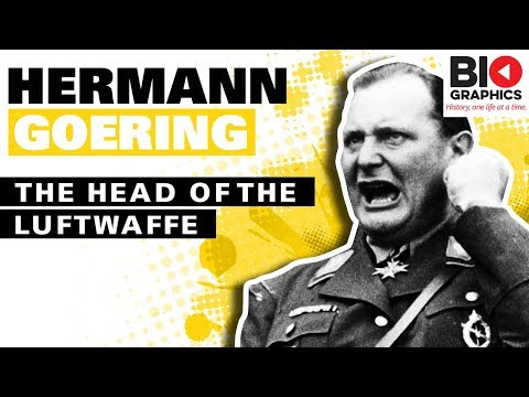 Hermann Goering: The Head of the Luftwaffe
