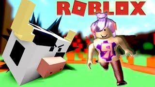 СИМУЛЯТОР ОХОТА НА ДИКИХ ЖИВОТНЫХ! ROBLOX игра для детей