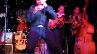 Hemsby 44 RUDY TUTTI GRAYZELL Ducktail ROCKABILLY live