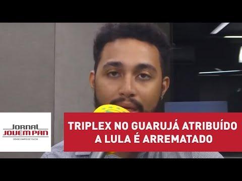 Triplex no Guarujá atribuído a Lula é arrematado por R$ 2,2 milhões | Jornal JP