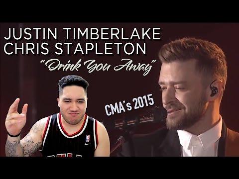 Youtube music lyrics for Justin timberlake chris stapleton drink you away
