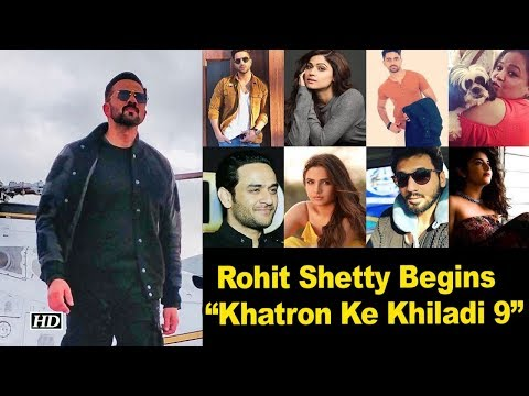 "Rohit Shetty Begins shoot of  ""Khatron Ke Khiladi Season 9"""