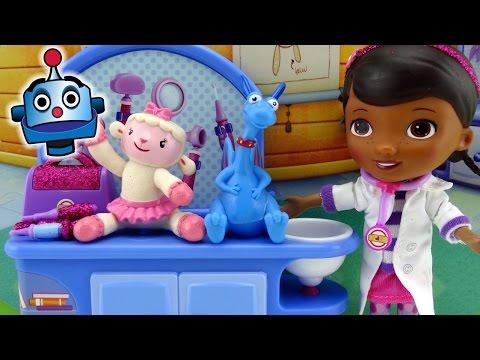 Doctora Juguetes Consultorio Mágico Doc McStuffins Magic Checkup Set - Juguetes de Doctora Juguetes