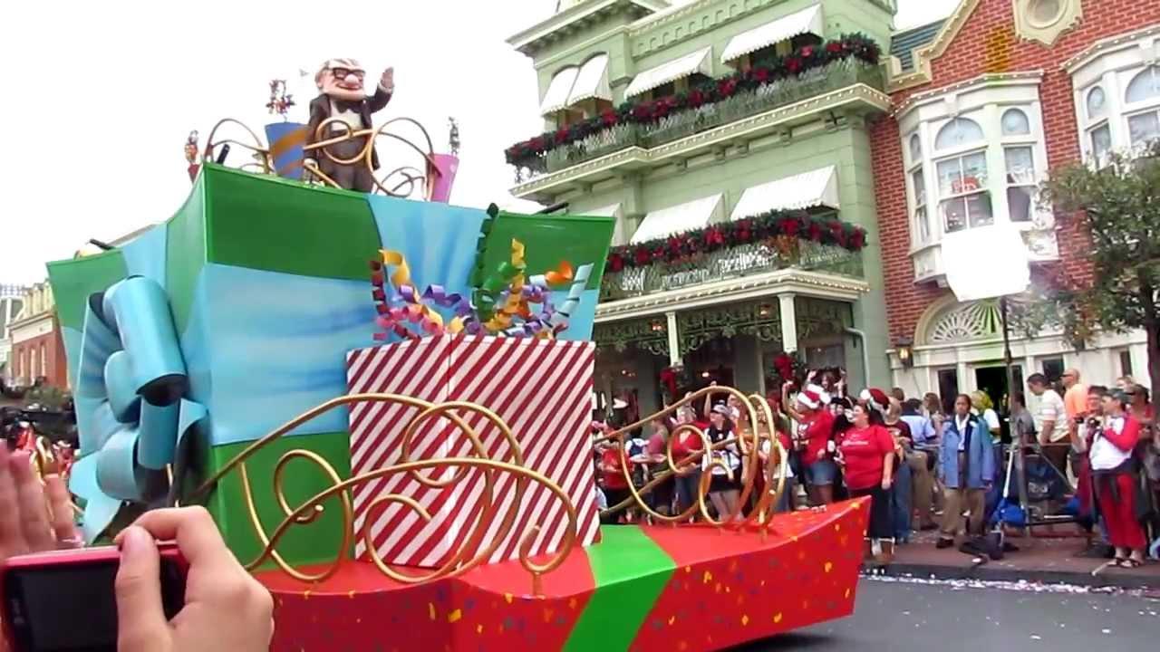 2012 ABC Christmas Day Parade Taping Magic Kingdom Disney ...