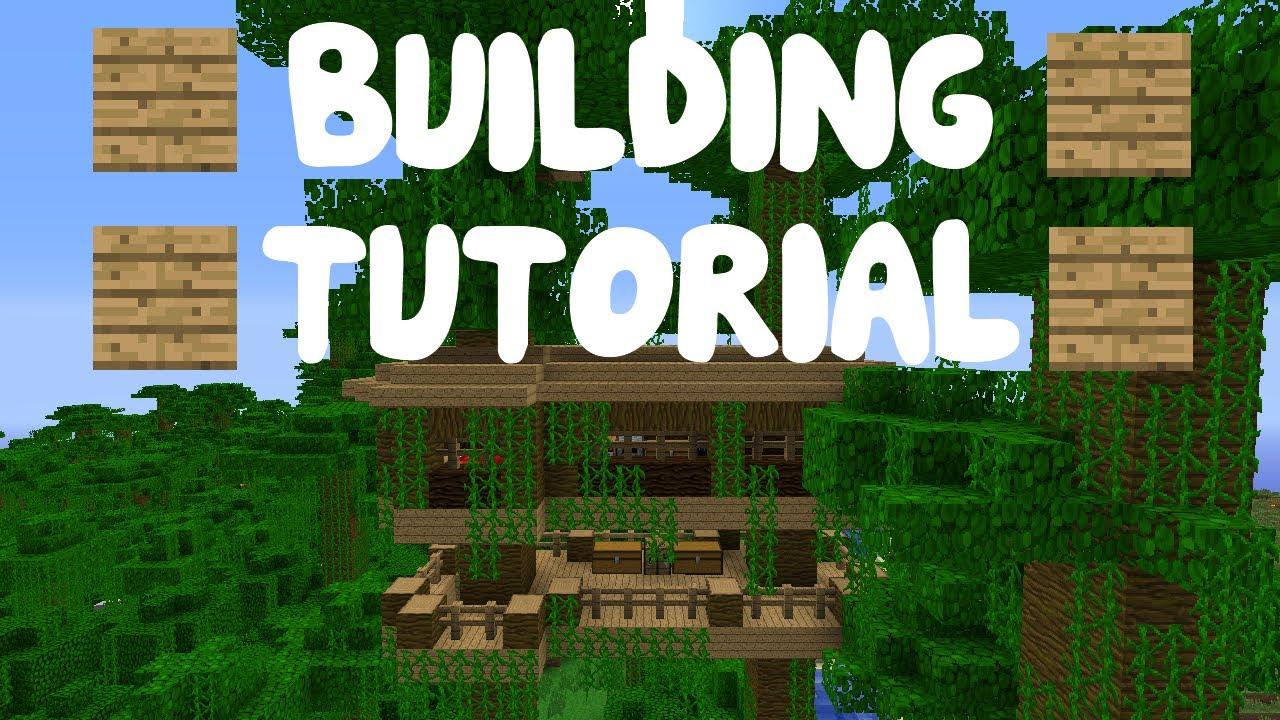 Minecraft: Building Tutorial - Part 8 - Cool Jungle Tree ...