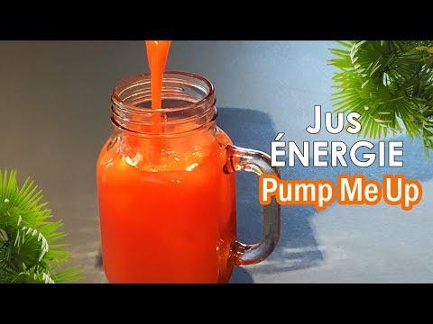 """jus-Énergie-et-anti-fatigue-""""pump-me-up""""-facile-et-rapide"""
