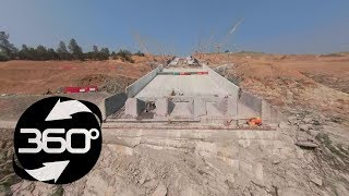 Oroville Spillway 360 Flyover August 10, 2018