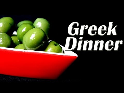 Greek Dinner - Music , Food and Typical Products from Greece