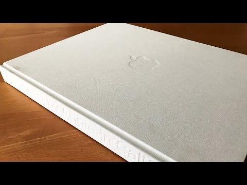 Apple's $300 Designed by Apple in California Book | First Look