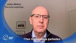 Juha Metso: noudattamalla ohjeita hidastamme koronan leviämistä parhaiten