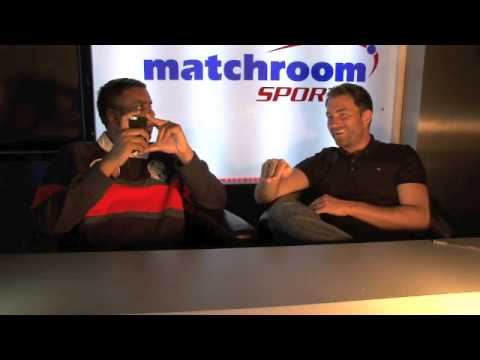 EDDIE HEARN ANSWERS FAN'S QUESTIONS (PART 2)  / iFILM LONDON / MATCHROOM TV STUDIO