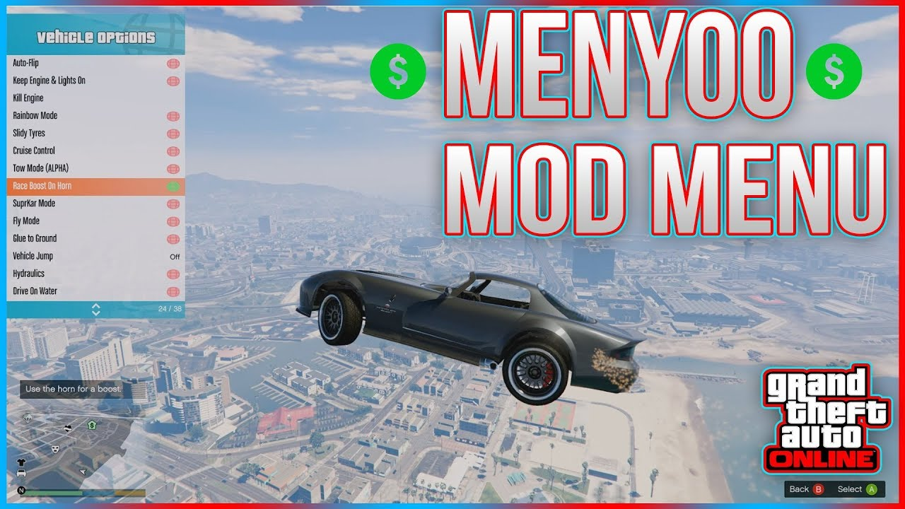 GTA 5 PC Mod Menu - Menyoo Full Mod Menu Showcase + DOWNLOAD