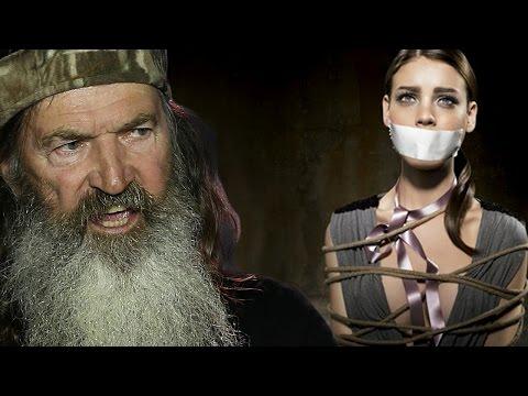 Phil Robertson's Atheist Family Rape Murder Fantasy