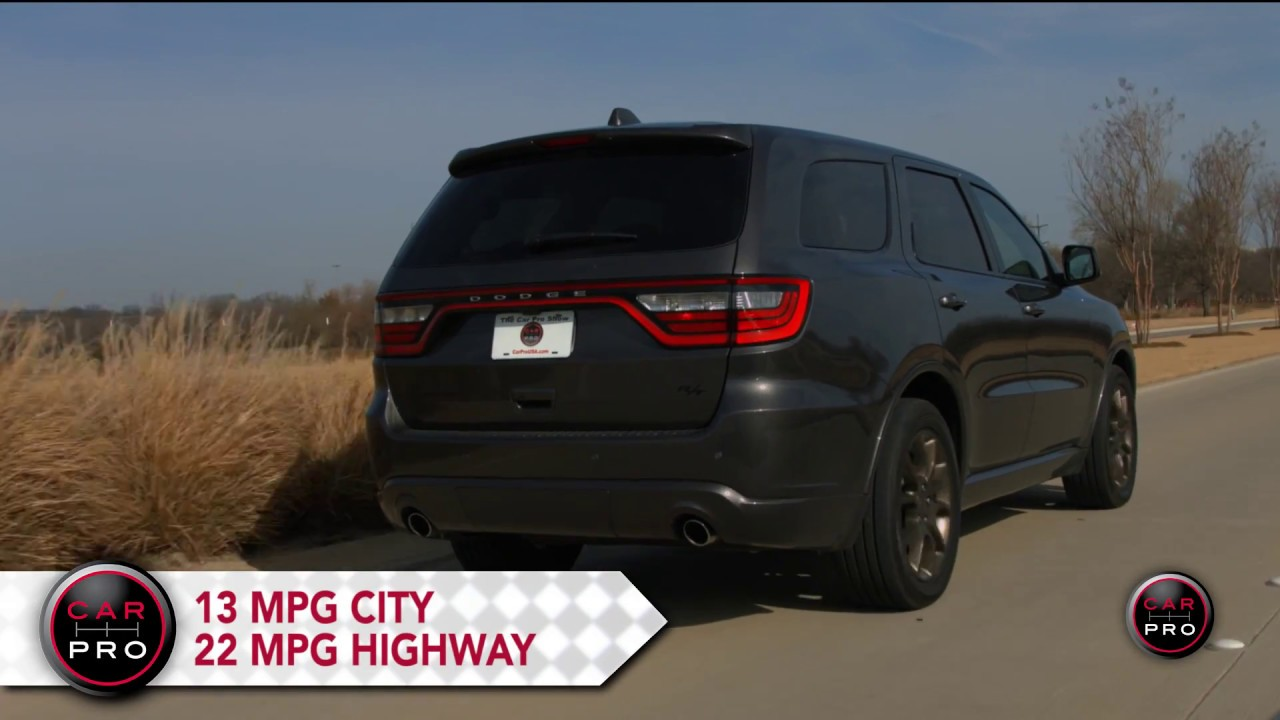 2017 Dodge Durango Test Drive
