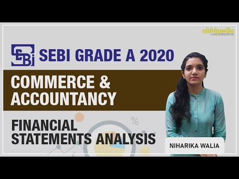SEBI Grade A (Asst. Manager) | Commerce and Accountancy |Financials Statement An I By Niharika Walia