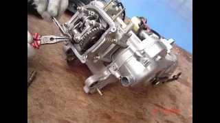 Poradnik, jak zamontować kompletny cylinder z głowicą 50, 60, 80ccm. 139QMB,QMA.