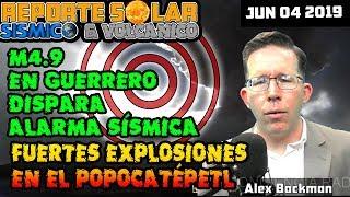 M4.9 EN GUERRERO MÉXICO DISPARA ALERTA SÍSMICA - ALINEACIÓN MAYOR EL 10 DE JUNIO   - REPSOL JUN 04
