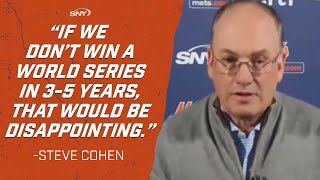 Steve Cohen's Best Moments From His Introductory Press Conference As The New Owner Of The Mets | SNY